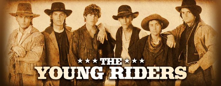"The Young Riders (l. to r.) Stephen Baldwin as ""Cody"", Josh Brolin as Jimmy, Ty Miller as ""Kid"", Travis Fine as Ike McSwain, Yvonne Suhor as Louise ""Lou"" McCloud and Gregg Rainwater as ""Buck"" Cross"