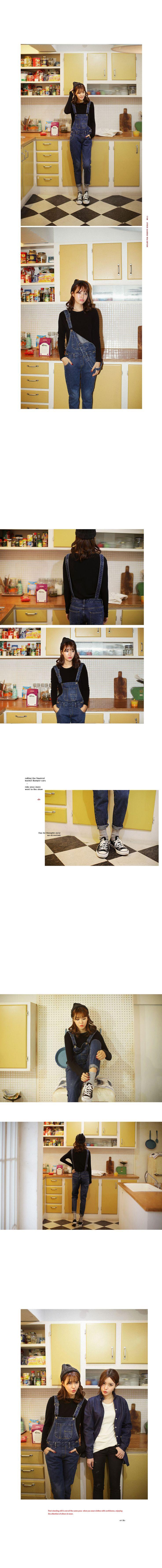 2TYPEバギーフィットオーバーオール・全2色デニム・ジーンズデニム・ジーンズ|レディースファッション通販 DHOLICディーホリック [ファストファッション 水着 ワンピース]