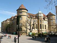 Stuttgart - Castle dated from 950 AD