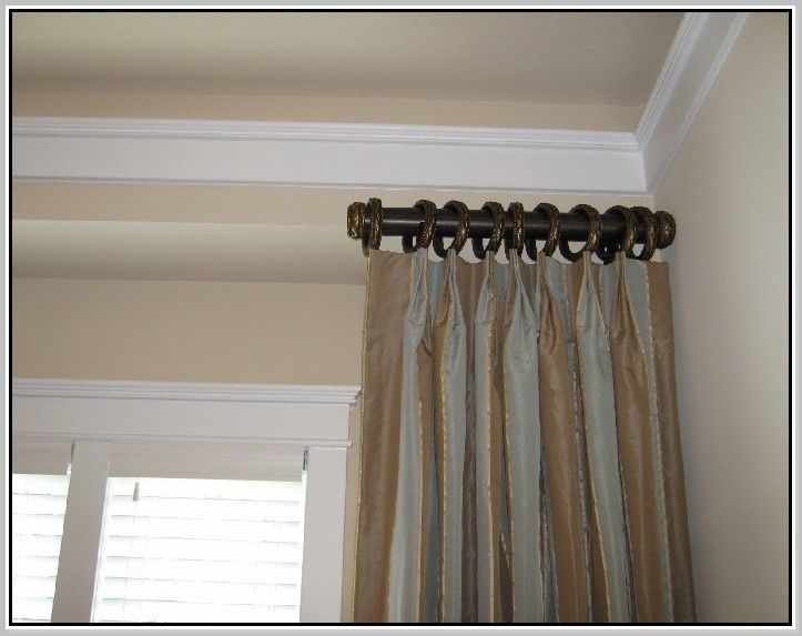 Short curtain rods for curtains pinterest Short curtain rods