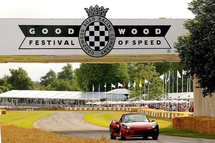 世界各国のレーシングカーが集結する「Goodwood Festival of Speed 2015」に参加(クリックで拡大) 出典:GLM