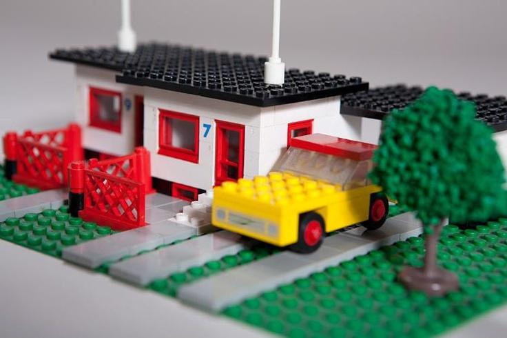 LEGO 353, Bungalow, 70er Jahre