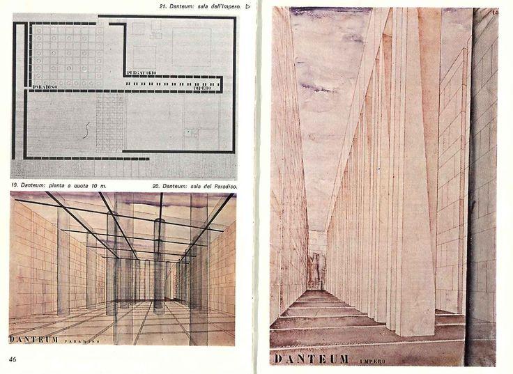 Danteum, Terragni ispiration for Peter Eisenman
