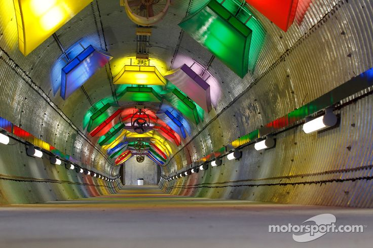 Tunnel at Kansas Speedway :)