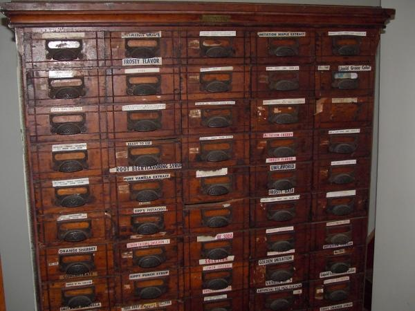 Antique Commercial Spice Cabinet   Instappraisal - 14 Best Antique Spice Cabinet Images On Pinterest Spice Cabinets