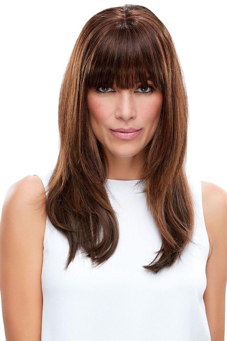 EasiFringe 100% Human Hair Clip In Bangs (Open Box)