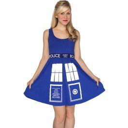 Doctor Who: TARDIS Dress