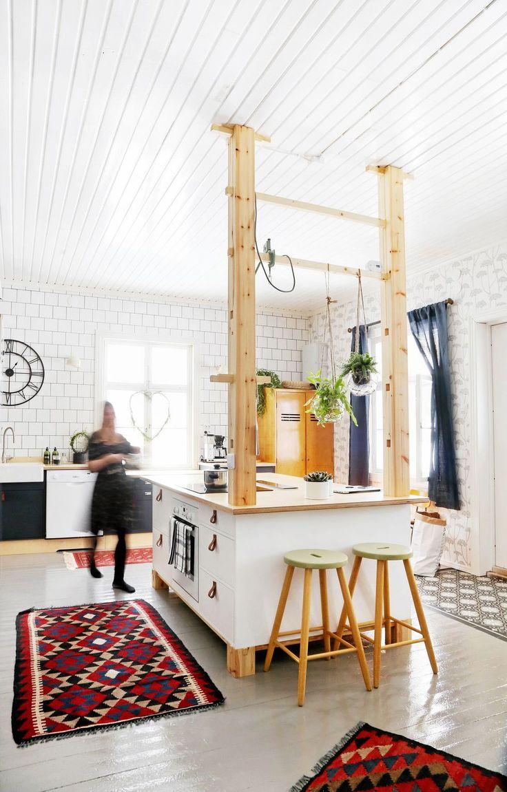 En glad blandning av gammalt och nytt i stationshuset – Hus & Hem