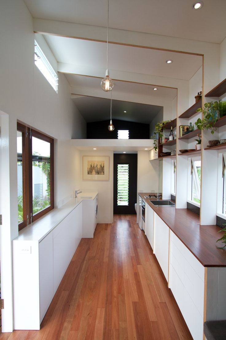 This page contains images of our tiny house design and an explanation of  the driving concepts and strategies behind it.  The Tiny House Company designs and builds tiny houses on wheels, based in  Brisbane, Australia.