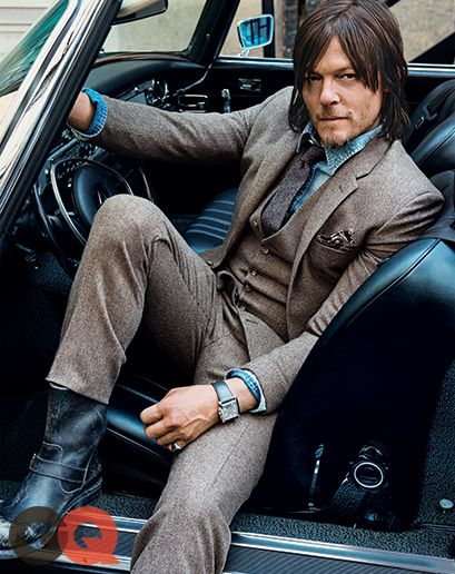 Norman Reedus' Long Walk: GQ Cover Story October 2014: Celebrities: GQ