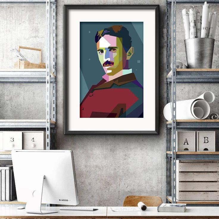 Litt eksamensmotivasjon!! #Tesla mannen som er blitt hyllet av bilselskapet Tesla ble ofte oppfattet som en romantisk og eksentrisk oppfinner. Han hadde mange ideer av teknisk og vitenskapelig natur men mangelen på penger gjorde at han ikke fikk realisert dem. #ViHyller denne helgen!