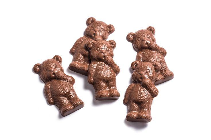 Haigh's Milk Chocolate Bears