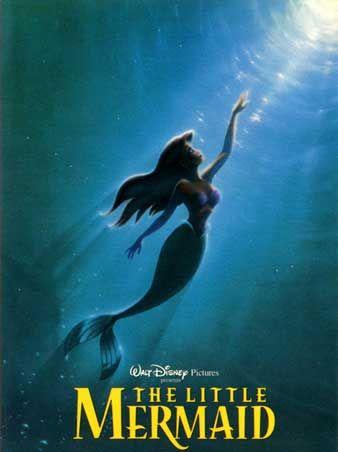 """""""The Little Mermaid"""": Movie Posters, Walt Disney, Disney Film, Waltdisney, Disney Princesses, Thelittlemermaid, Favorite Movie, The Little Mermaids, Disney Movie"""