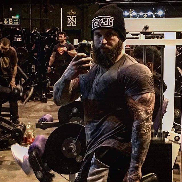 """BEAST"" Beanie Available at www.crmc-clothing.co.uk | WE SHIP WORLDWIDE Model - @loco.mike.mason #muscle #shredded #ripped #hulk #bodybuilder #bodybuilding #wrestler #wresling #dark #alternativeboy #clothing #fashion #locomikemason #instagood #skatewear #urbanwear #Mikemason #instafashion #fashionaddict #beanie #beaniehat #occulture #occult #beardedgents #beard #beardedmen #menwithbeards #love #instadaily #snapbacks"