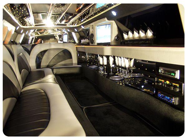Chrysler Stretch Limo Inside