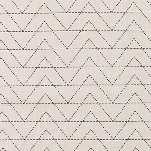 Baumwolle, Sand, Zickzack-Muster