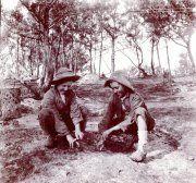Die jongste Boerekrygsgevangenes op die Bermuda-eilande was Piet Cronje (9) en Tjaart van der Walt (11). Foto: OORLOGSMUSEUM VAN DIE BOEREREPUBLIEKE