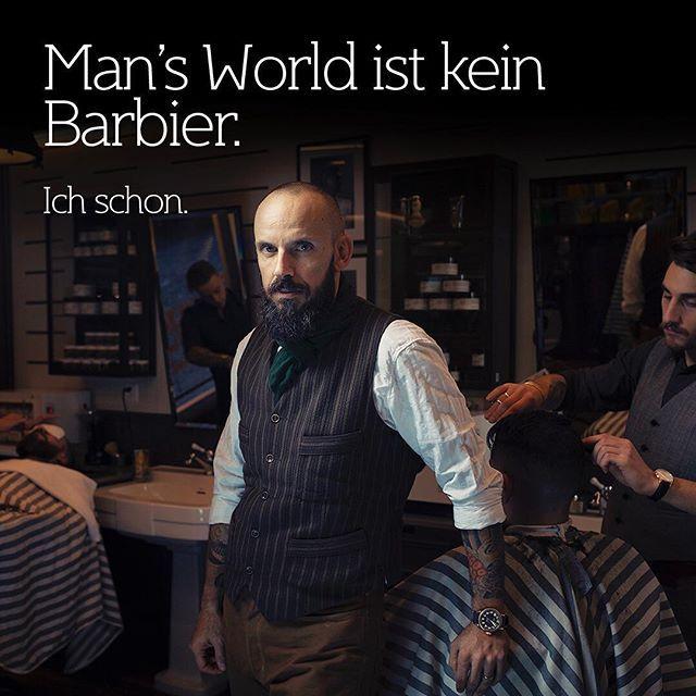 Romano Brida, Gründer von @bullfrog_barbershop und Austeller. Foto @sandrobaeblerphotographer  #mansworldcom #mansworldapproved @mini @dmax_tv @punktmagazin @zenithwatches