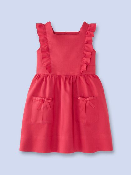 Inspiration: Girls Ruffle Dress by Jacadi on Gilt