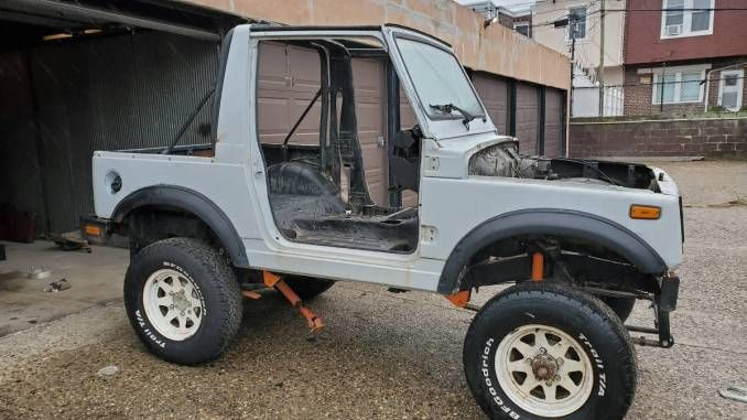 1990 Suzuki Samurai Project Roller For Sale In Philadelphia