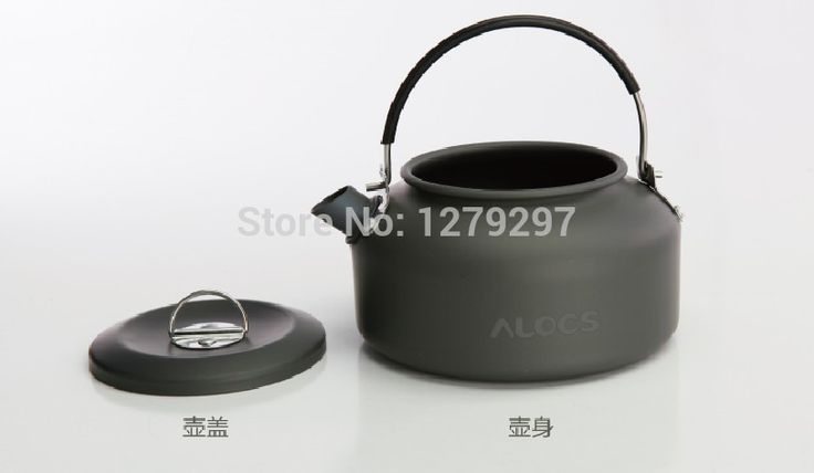 Free Shipping 2015 New Arrival Outdoor Coffee kettle Camping Pot Outdoor Kettle 0.8L