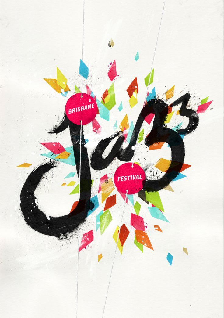 pinterest.com/fra411 #typography #lettering BPH_Jazz_2010_Final