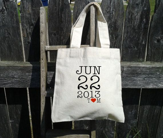 Wedding Welcome Tote Bag Ideas