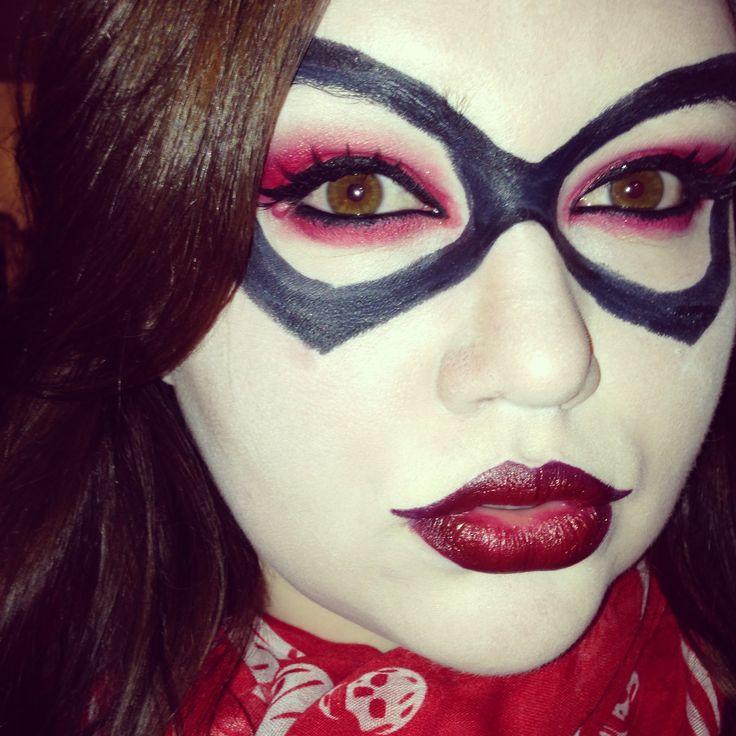 Brunette Harley Quinn Halloween