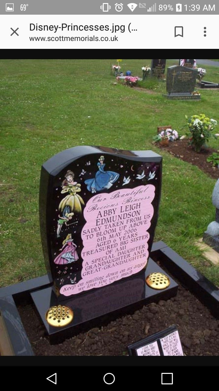 This Is One Of My Most Favorite Stones I Am Considering For My Passed Away Daughter Rip Little Babies Unusual Headstones Grave Headstones Cemetery Monuments