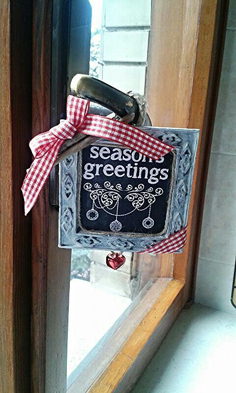 Christmas decoration! #homemade #christmas