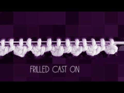 Border Design #08# (Hindi) | Frilled cast - YouTube