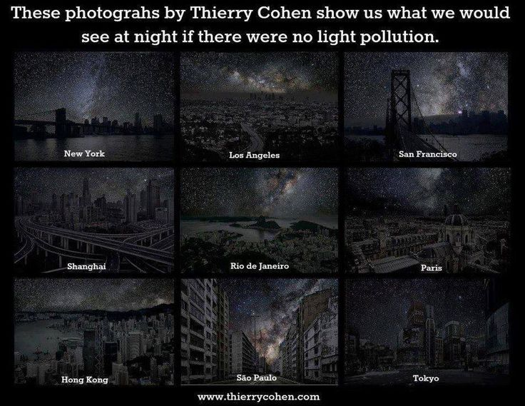 Best Light Pollution Images On Pinterest Environment Evans - Beautiful video imagines cities without light pollution