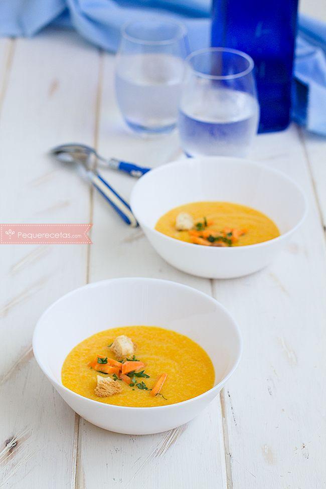 puré zanahoria