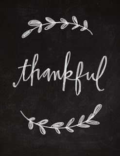 Thankful to people who give and people who say thanks!