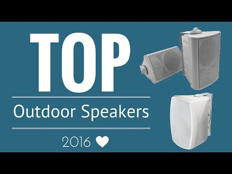 The Best Outdoor Speakers of 2016 (Top 5 Outdoor Speakers List, Based on Hands-On Experience!) - Get it on Amazon:  http://www.amazon.com/dp/B015MQEF2K - http://outdoors.tronnixx.com/uncategorized/the-best-outdoor-speakers-of-2016-top-5-outdoor-speakers-list-based-on-hands-on-experience/