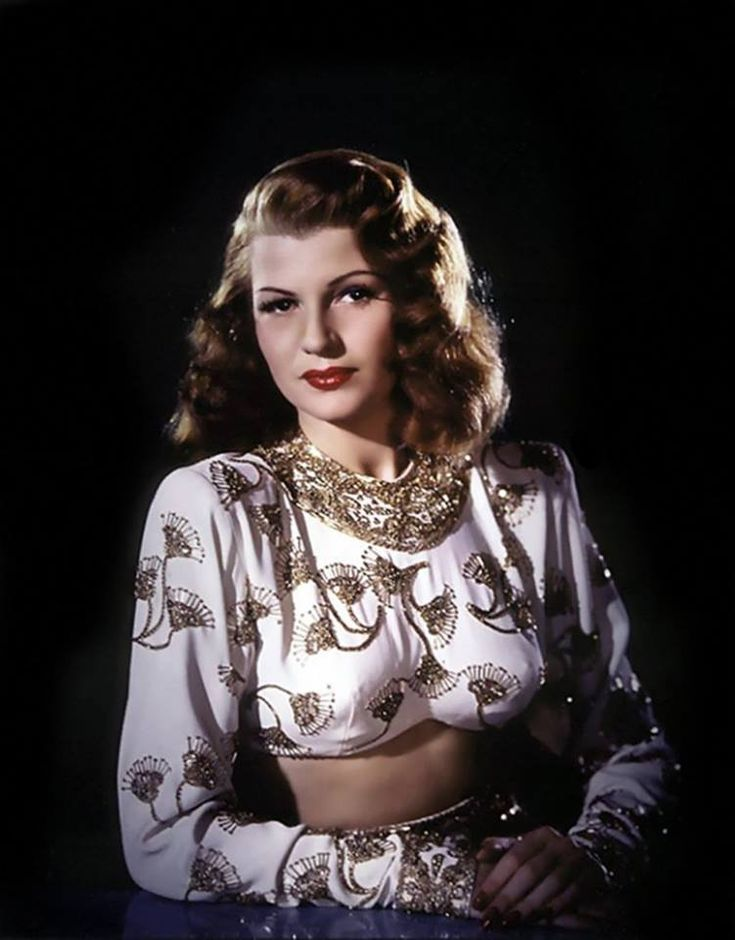 "Rita Hayworth for ""Gilda"""