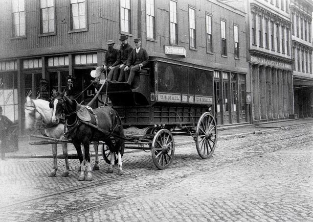 Regulation Mail Wagon 1895