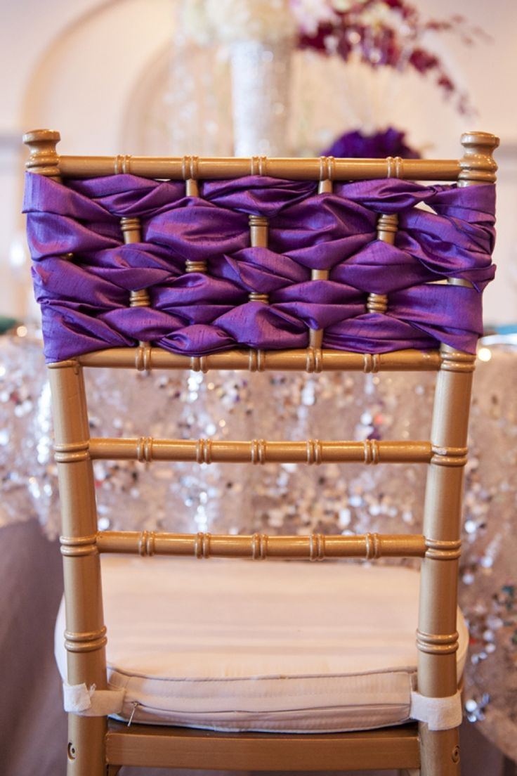 Chiavari chairs rental chicago chairs for - New Year S Radiant Orchid Wedding Inspiration