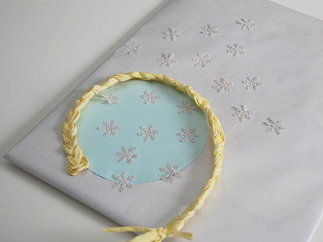 DIY- Frozen teemainen paketti - Pompom.fi • Juhlat on katettu