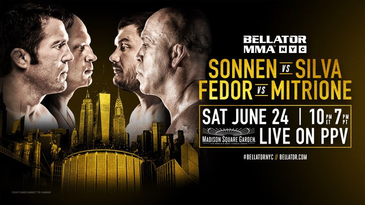 FOLLOW AND SHARE CHAEL SONNEN VS. WANDERLEI SILVA BELLATOR MADISON SQUARE GARDEN PRESS CONFERENCE FOLLOW US ON TWITTER: @REALCOMBATMEDIA LIKE US ON FACEBOOK: REALCOMBATMEDIA SUPPORT OUR TOP QUALITY SPONSORED PARTNERS SPONSORED LINKS Discount UFC Tickets Discount Boxing Tickets FOLLOW AND SHARECOMMENTS COMMENTS@REALCOMBATMEDIA - Editorial StaffEditor in ChiefWe are the Editorial staff for the top independent …