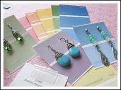 DIY Earring Cards that won't break the bank! « Rings and Things Now this is smart. Great idea. Definitely gonna give this a try!