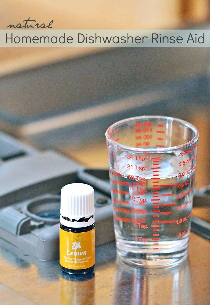 DIY Natural Dishwasher Rinse Aid | Homemade, Beauty and
