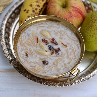 Vegan Semya Payasam (Kheer) with Almond Milk
