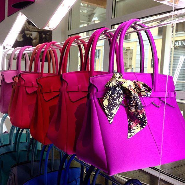 50 sfumature di rosa!  #bags #borse #savemybag #milano #milan #mfw #style @savemybag #pink #rosa