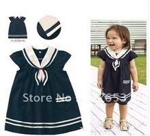 Якорь моряк платье девочка малыш