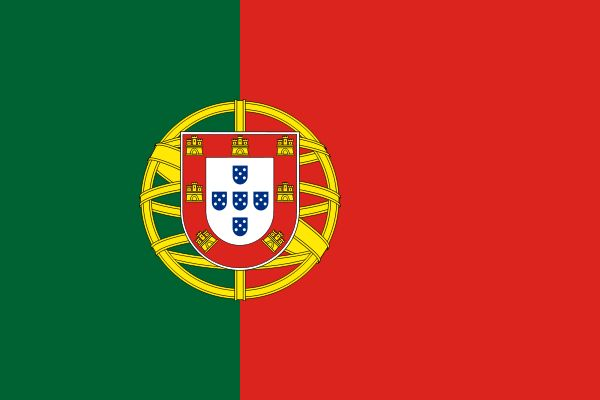 The Portugal flag was officially adopted on June 30, 1911. Green is representative of King Henry the Navigator, a famed Portuguese explorer. The centered shield is representative of ocean exploration and the expansion of Portugal's influence during the reign of King Afonso Henriques. Red recalls the internal revolution of the early 1800s.