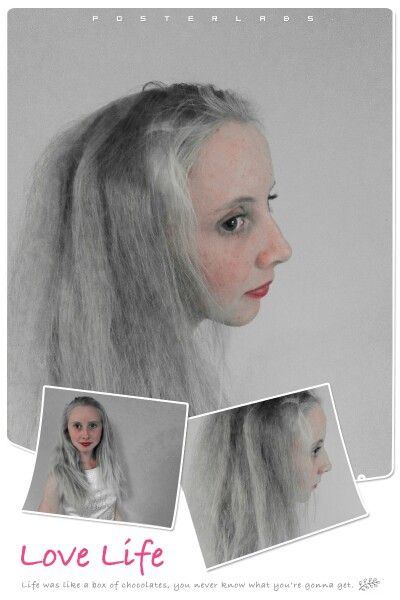 Heather Ineson with silver hair.