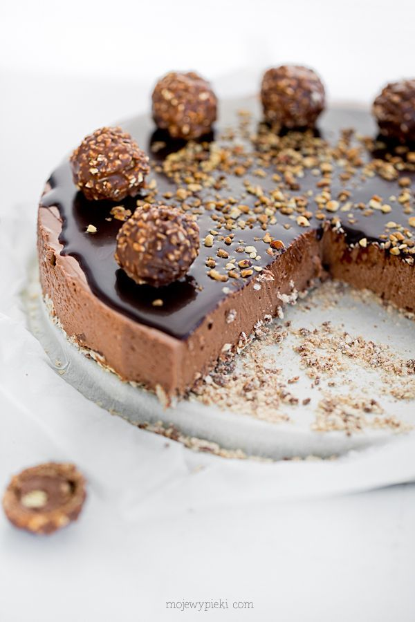 no-bake rocher cheesecake