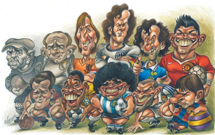 Mejores 160 Imágenes De Famosos En Pinterest: 21 Mejores Imágenes De Caricaturas De Futbol En Pinterest