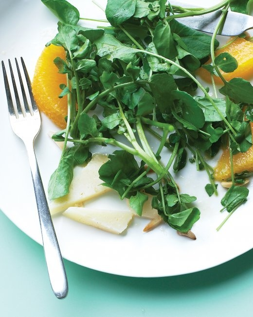 Watercress Salad with Manchego and Orange | Recipe